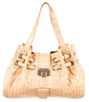 Jimmy Choo Crocodile Ramona Bag