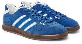 adidas Handball Kreft Spezial Leather-Trimmed Suede Sneakers