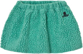 Bobo Choses Mint Green Sheepskin Skirt