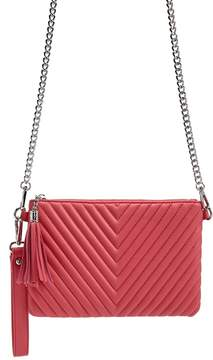 Forever 21 Quilted Chevron Crossbody Bag