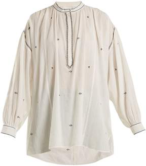 Etoile Isabel Marant Mathilde embroidered-top