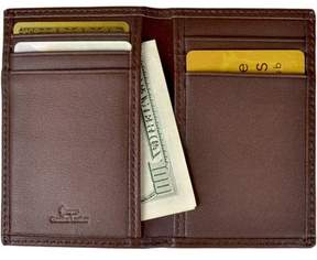 Royce Leather RFID Blocking Men's Slim Card Case Wallet in Genuine Leather