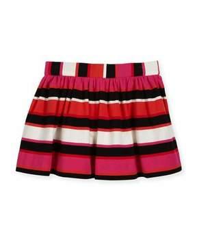 Kate Spade Coreen Striped Skirt, Red/Multi, Size 2-6