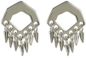 Botkier Cutout Fringe Stud Earrings