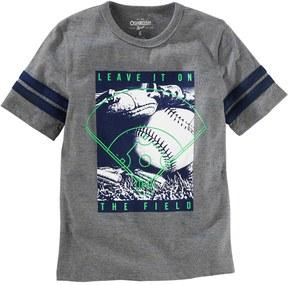 Osh Kosh Boys 4-12 Leave It On The Field Baseball Graphic Tee