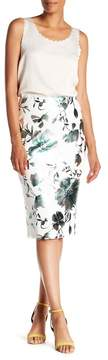 ECI Floral Pull-On Skirt