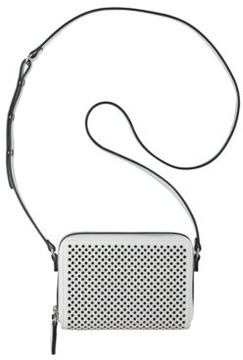 Nine West Ania Perforated Faux Leather Crossbody