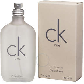 Calvin Klein Cosmetics One by 3.4 Oz. EDT Spray