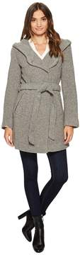 Andrew Marc Flair 31 Felted Wool Coat Women's Coat