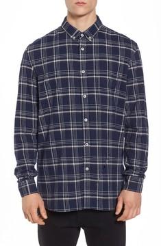 Barney Cools Men's Cabin Plaid Shirt