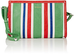 Balenciaga Women's Arena Leather Bazar Pochette