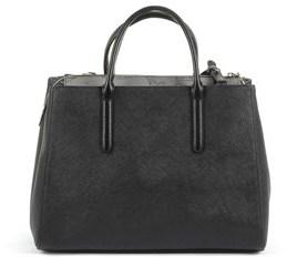 Alviero Martini Women's Black Cotton Handbag.