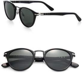 Persol 47MM Round Sunglasses