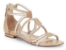Alexandre Birman Luise Braided Leather Sandals