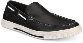 Kenneth Cole Reaction Men's Ankir Canvas Slip-on Boat Shoes Men's Shoes