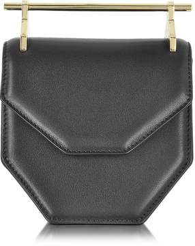 M2Malletier Mini Amor Fati Black Leather Crossbody Bag
