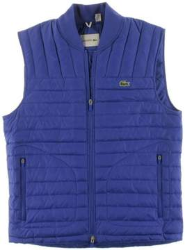 Lacoste Mens Mini-Ripstop Quilted Jacket Blue L