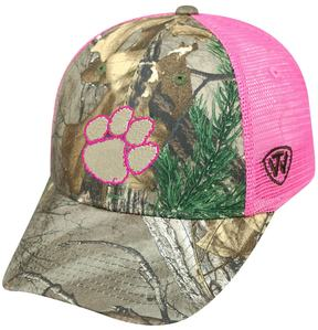 Top of the World Adult Clemson Tigers Sneak Realtree Snapback Cap