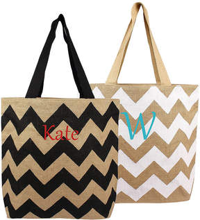 Cathy's Concepts CATHYS CONCEPTS Personalized Chevron Tote
