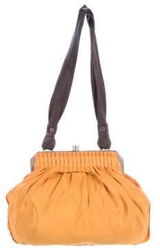 Lanvin Woven Clasp Bag