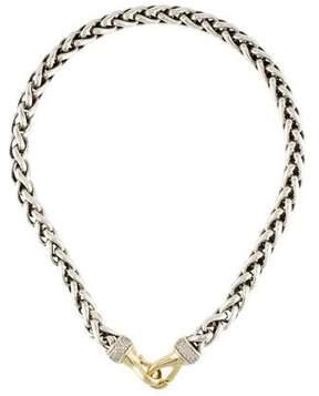 David Yurman Two-Tone Diamond Necklace