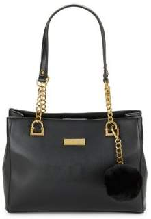 Anne Klein Chain Accented Handbag