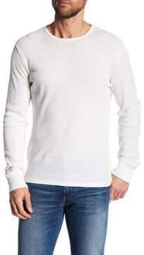 Rag & Bone Giles Thermal Henley Wool Pullover