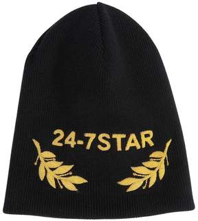 DSQUARED2 Wool Beanie Hat W/ Embroidery