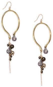 Alexis Bittar Elements Bead Cluster Arc Earrings