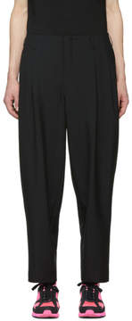 Comme des Garcons Black Tropical Wool Pleated Trousers