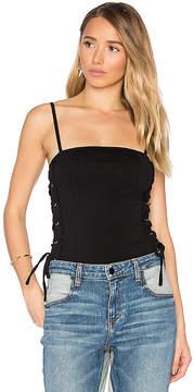 RtA Eveline Lace Up Bodysuit