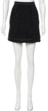 Andrew Gn Pre-Fall 2016 Wool Mini Skirt w/ Tags