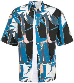 Marni Twist print short sleeved shirt