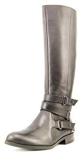 Bar III Womens Dani Leather Almond Toe Knee High Fashion Boots.