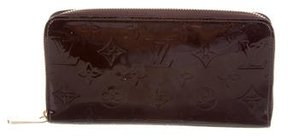 Louis Vuitton Monogram Vernis Zippy Wallet - BURGUNDY - STYLE
