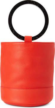 Simon Miller Red Leather Bonsai Bucket Bag