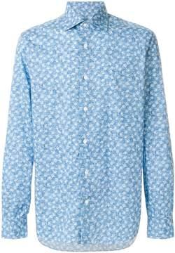 Barba rose print shirt