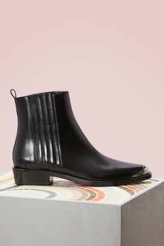 Sartore Ankle Boots with metal tip