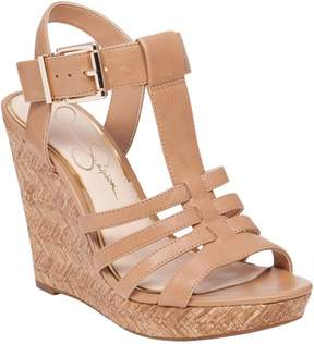 Jessica Simpson Womens Jenna Wedge Sandals 9.5