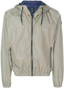 Fay zipped hooded jacket