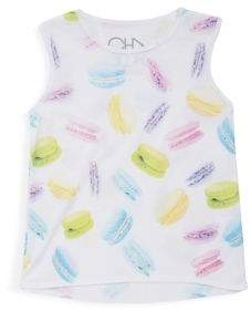 Chaser Toddler's, Little Girl's & Girl's Hi-Lo Flouncy Tank Top