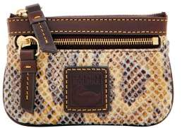 Dooney & Bourke Snake Small Coin Case - NATURAL - STYLE
