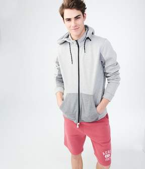 Aeropostale Colorblocked Active Full-Zip Hoodie