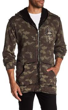 Affliction Reversible Zip Hoodie