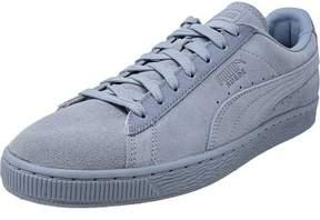 Puma Men's Classic Tonal Suede Blue Fog Ankle-High Fashion Sneaker - 11.5M