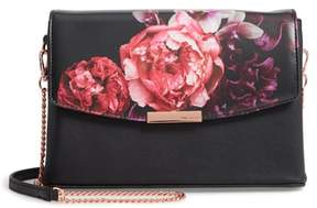 Ted Baker Viickky Splendour Print Faux Leather Crossbody Bag