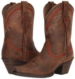 Ariat Round Up Aztec Cowboy Boots