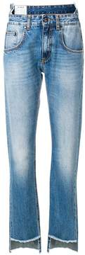 Dondup high low jeans