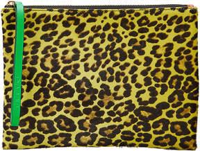 Marni Leopard Haircalf Clutch