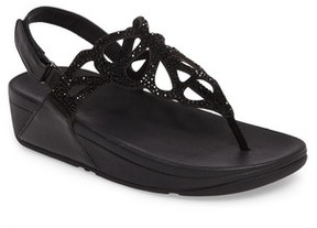 FitFlop Women's Bumble Crystal Embellished Sandal